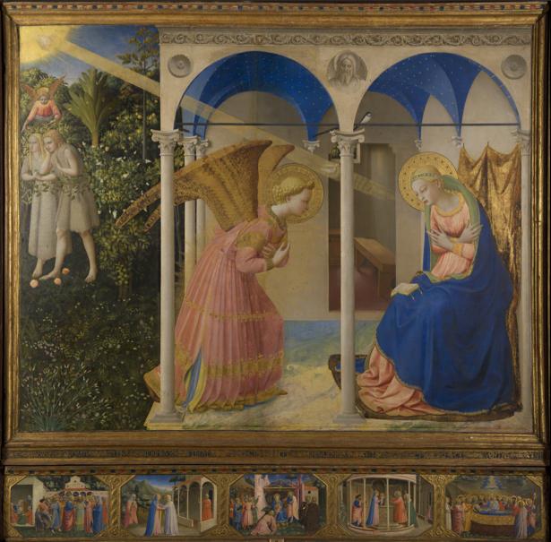 Фра Беато Анджелико религиозная живопись (art-0000410)