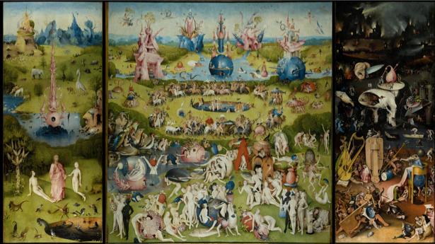 Иероним Босх, сад земных наслаждений (art-0000415)