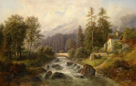 Фотообои Верхняя Австрия (art-0000723)