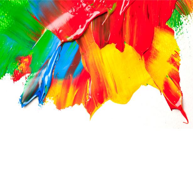 Фотообои мазки краски цветные (background-0000155)