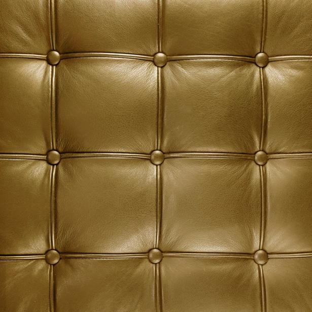 Фотообои текстура кожаной обивки золото (background-0000329)