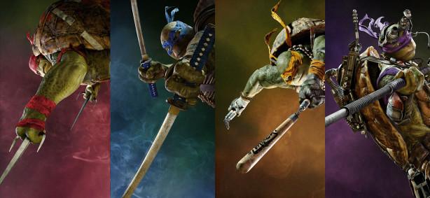 Фотообои с черепашками-ниндзя (child-413)