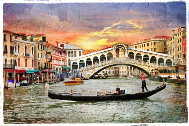 канал Венеция Италия Фотообои (city-0000654)