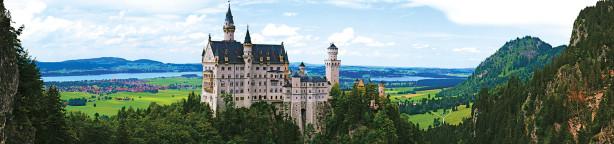 Фотообои панорама замок (city-0000748)