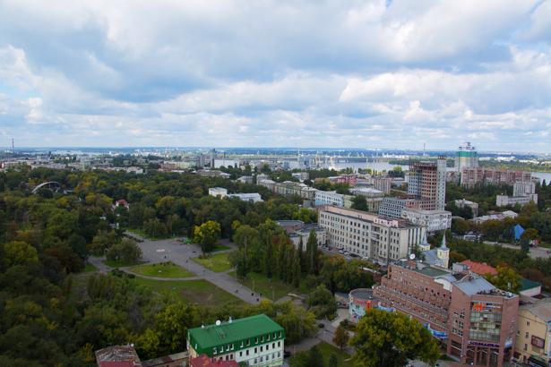Фотообои городской пейзаж Днепропетровск (city-0000950)