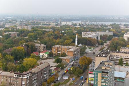 Фотообои вид на Днепропетровск фото (city-0001051)