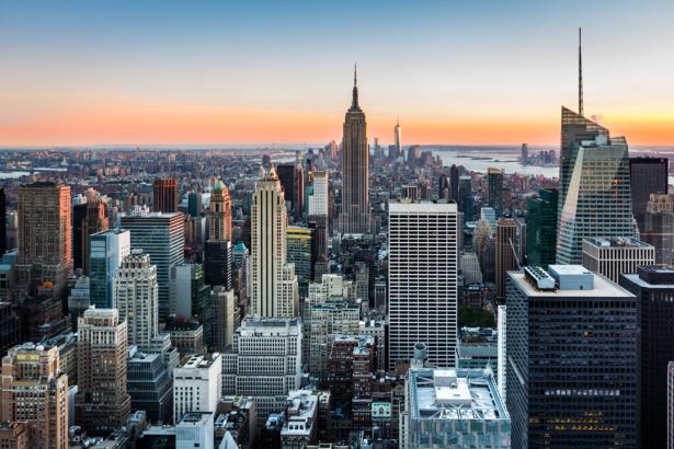 Фотообои Нью-Йорк городской ландшафт (city-0001347)