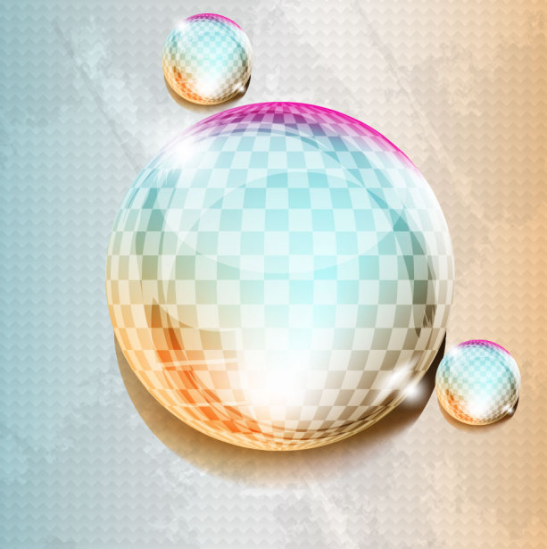 Фотообои диско шар блеск 3д оп-арт (commercial-00016)