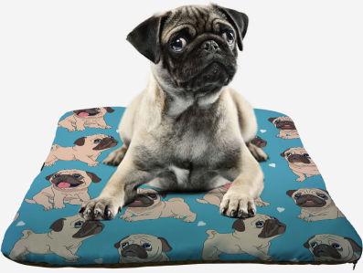Подушка для Мопса (dog-12)