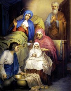 икона Рождество Пресвятой Богородицы (icon-00052)