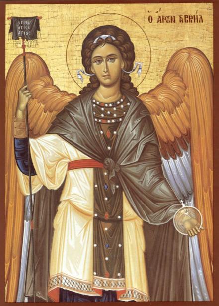 Икона архангела Гавриила (icon-00089)