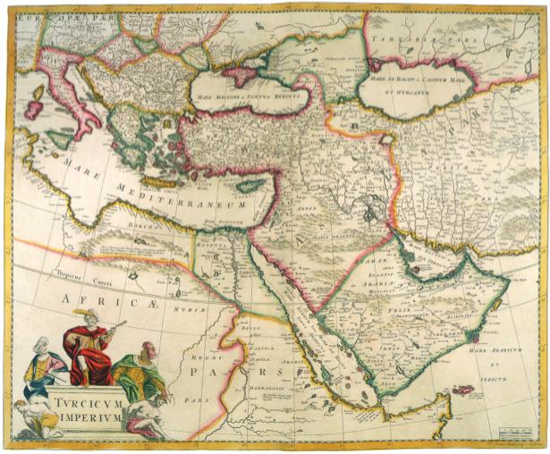 география, карты, старая карта (map-0000027)