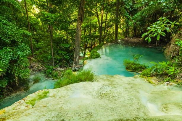 Фотообои тропики водопад лес (nature-0000722)