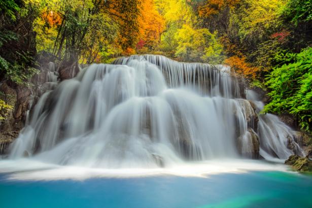 Природа фотообои водопад влесу (nature-0000866)