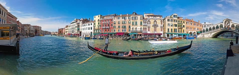 Фотообои Гранд-канал в Венеции (panorama-53)