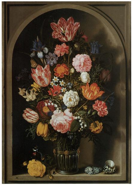 Картина с цветами Босхарт (pf-13)