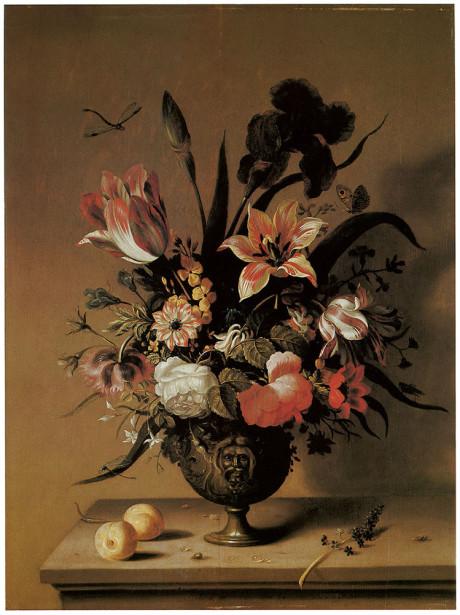 Картина цветы в вазе (pf-14)