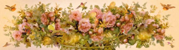 Обои для стен Ваза с цветами (printmaking-0000104)