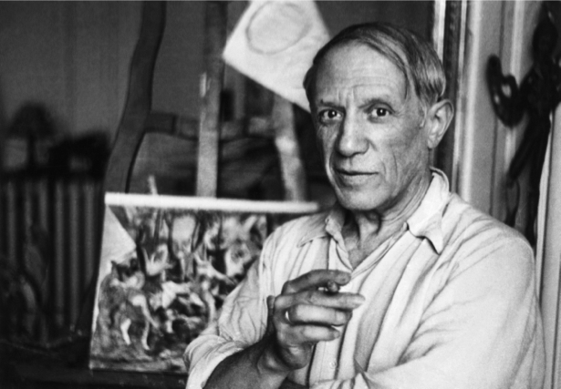 Фотообои Пабло Пикассо художник (retro-vintage-0000261)