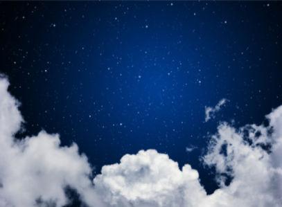 Фотообои ночное небо со звёздами (sky-0000082)