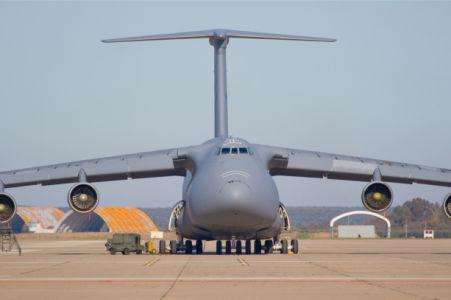 Фотообои грузовой самолет (transport-0000251)