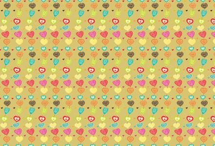 Скатерть Сердечная цепь (0181)
