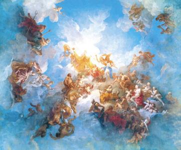 Фотообои жанровая композиция амуры ангелочки (angel-00043)