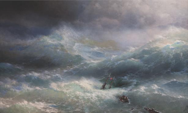 И. К. Айвазовский, Волна. 1889 (art-0000076)