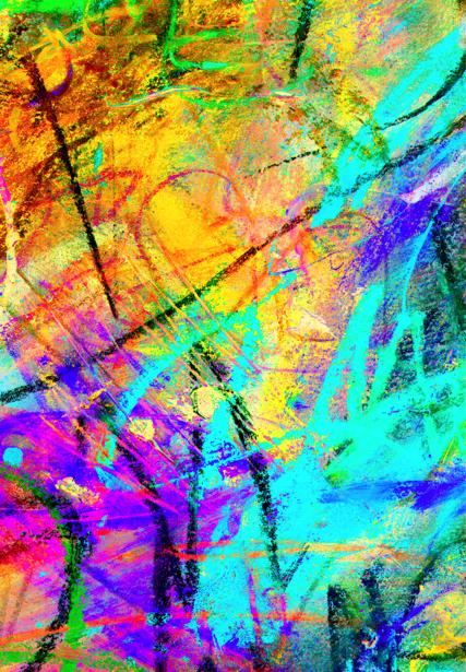 Фотообои пастельные рисунки (background-0000076)
