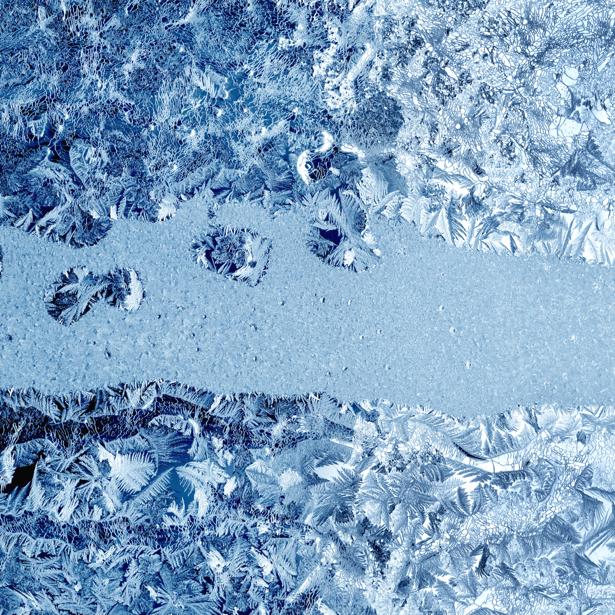 Фотообои орнамент изморозь (background-0000115)