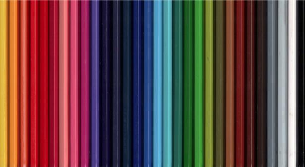 Фотообои цвета карандашы (background-0000196)