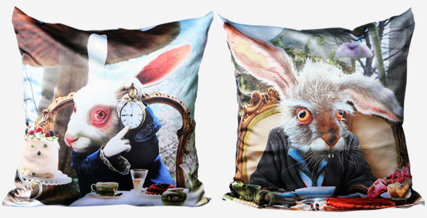 Подушка Белый кролик (child-2)