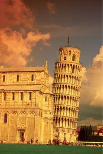 Фотообои Пизанская башня, Пиза, Италия (city-0000002)