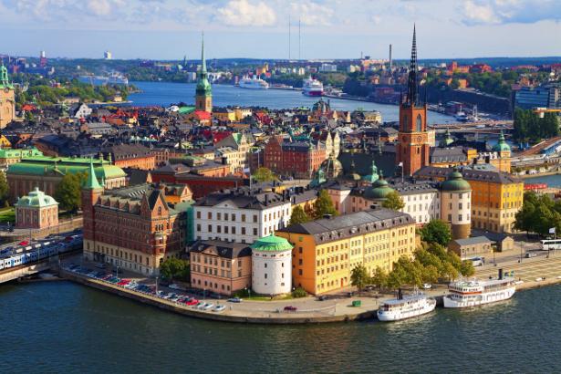 Фотообои Стокгольм, Швеция (city-0000016)
