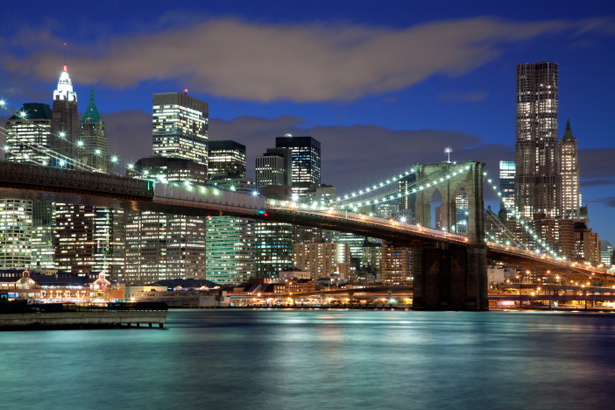 мост Нью-Йорк, США - Фотообои (city-0000240)