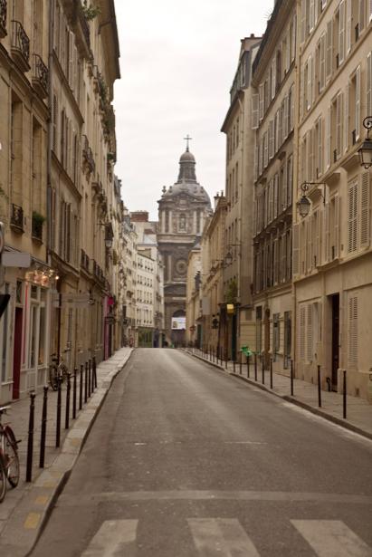 Фотообои улица в Париже Франция (city-0000567)