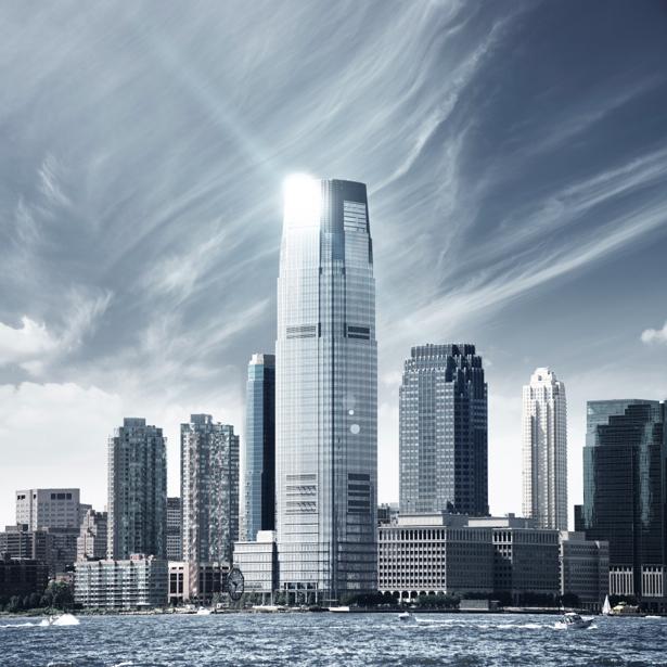 Фотообои набережная город небоскребы (city-0000569)