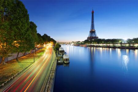 Фотообои Эйфелевая башня, Париж, Франция (city-0000670)