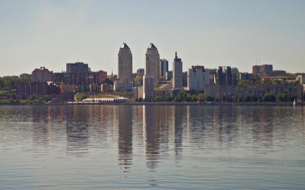 Фотообои Днепропетровск Днепр, Украина (city-0000835)