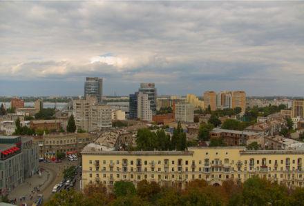 Фотообои дома в Днепропетровске (city-0000958)