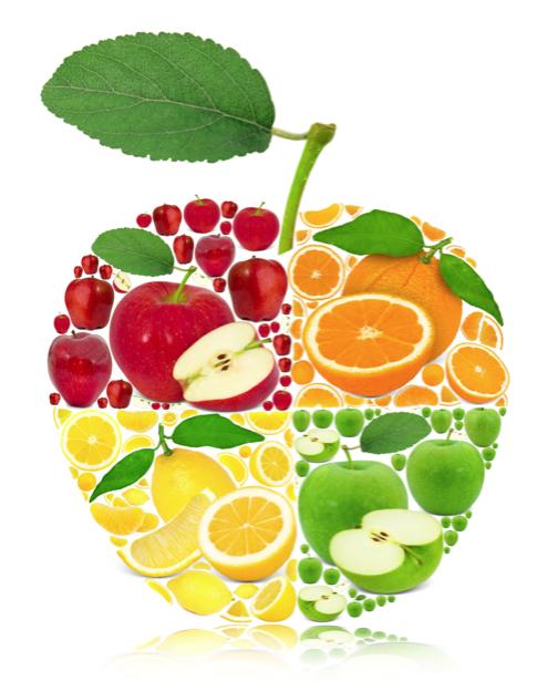 Фотообои в кухню фруктовое ассорти (food-0000232)