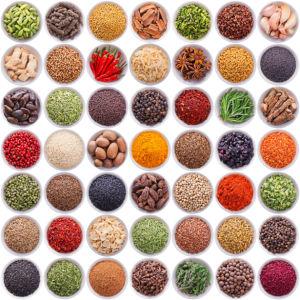 Фотообои в кухню набор специй (food-0000268)