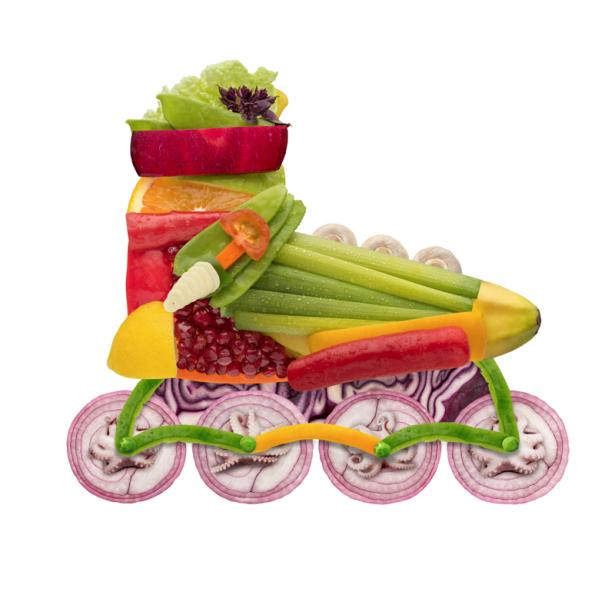 Фотообои для кухни композиция из овощей (food-0000320)