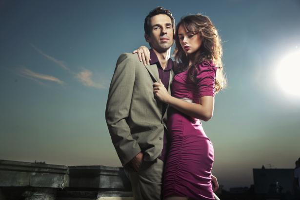 Фотообои девушка и мужчина пара (glamour-0000185)