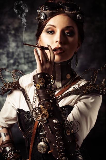 Фотообои стимпанк портрет (glamour-0000217)