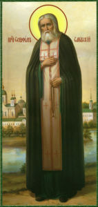 Икона Серафима Саровского (icon-00080)