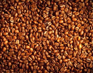 Фотошторы зерна кофе (kitchen-curtain-00008)