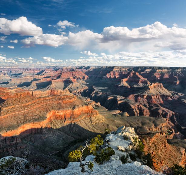 Фотообои облака панорама Гранд-Каньон (nature-0000750)