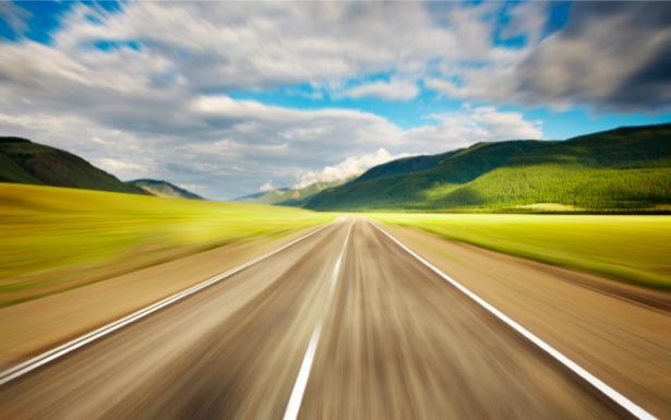 Фотообои с природой 3D дорога (nature-00039)