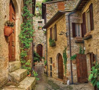 Фотообои Задворки старой улицы (prg-168)